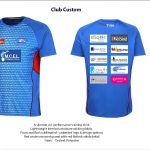 Highfields and Districts Railway Bulldogs Cricket Club training shirts